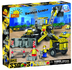 cobi action town construction backhoe loader
