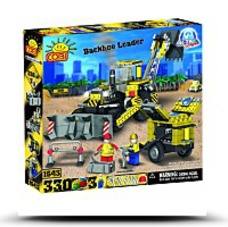Action Town Construction Backhoe Loader