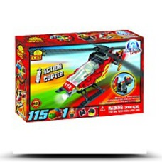 Save Action Town Fire Helicopter Set