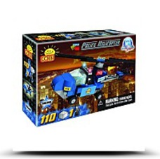 Action Town Police Helicopter Set