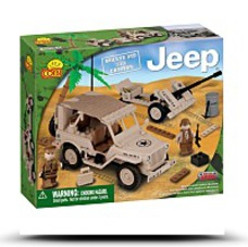 Blocks Small Army Jeep 24181 Willys