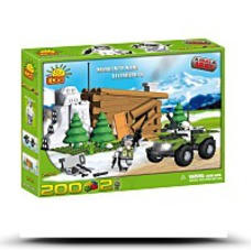 Cobi Blocks Small Army 2323 Mountain