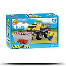 Save New Action Town Dozer 100 Piece Building