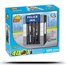 Save New Action Town Police Jail 40 Piece