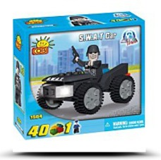 New Action Town S W A T Car 40 Piece