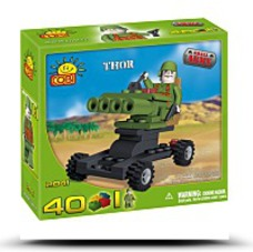 New Small Army Thor 40 Piece Building