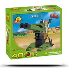 Save New Small Army Turret 40 Piece Building