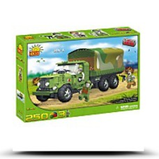 Save New ZIS6 Army Truck 250 Piece Building