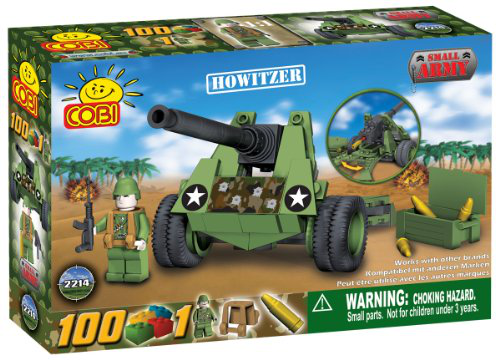 Cobi Small Army Howitzer Tank, 100 Piece Set