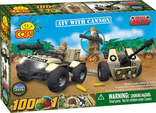 Small Army Atv With A Cannon