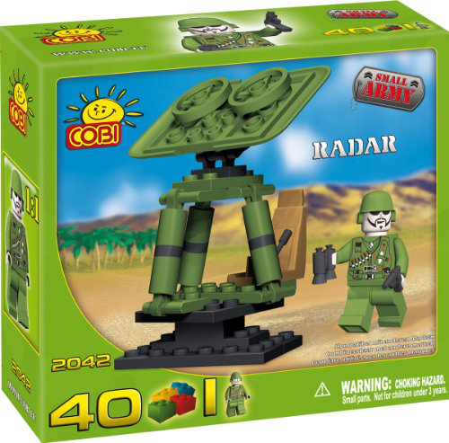 New Small Army Radar 40 Piece Building