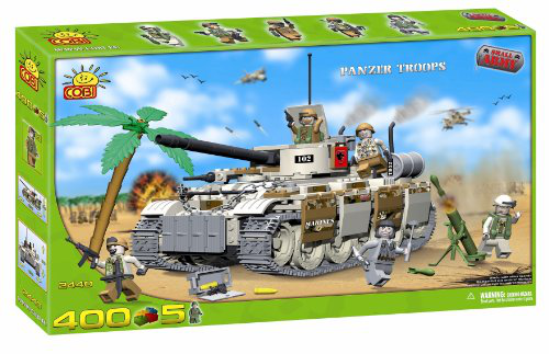 New Small Army Panzer Tank With Troops