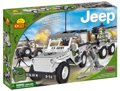 New Jeep Willys Winter Squad Jeep 250