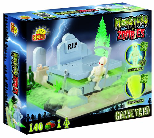 Graveyard Monsters Vs Zombies Toy
