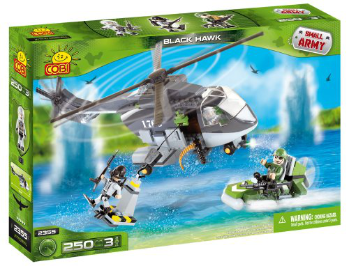 Cobi Small Army Black Hawk, Building Bricks, 250 Pcs