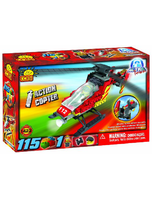 Action Town Fire Helicopter Set