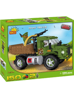 Cobi Blocks Small Army 2312 Half Truck