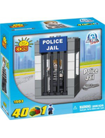 New Action Town Police Jail 40 Piece