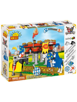 New Knights Tournament 200 Piece Building